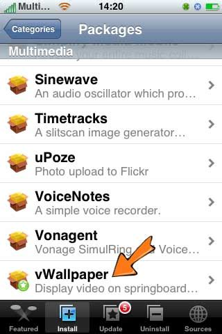 How To Put Animated Wallpaper On Iphone - how to install live animated hd wallpapers on iphone ios 4