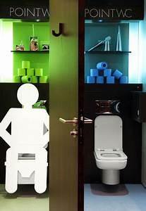 une deco des wc qui en jette cote maison With decoration des toilettes design