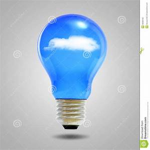 Light And Blue : light bulb and blue sky with clouds stock photography image 30569162 ~ Bigdaddyawards.com Haus und Dekorationen