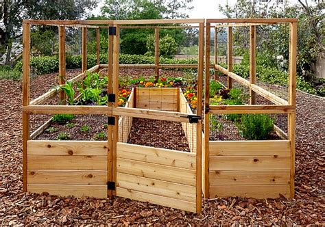 Garden Deer Fence by Garden Deer Fence Raised Garden Bed Outdoor Living Today