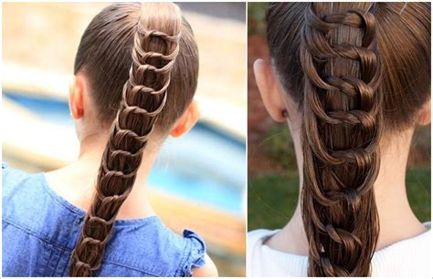 amazing knotted ponytail hairstyle