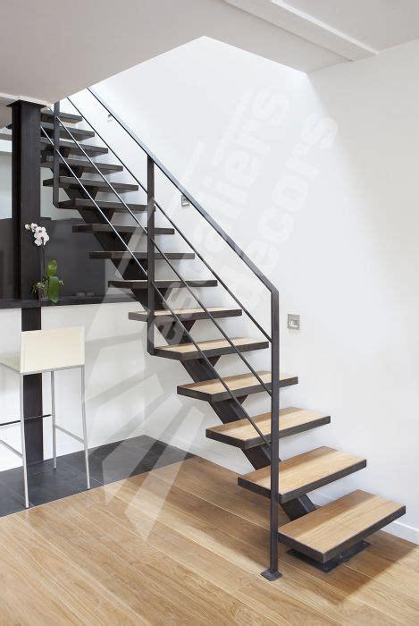 Escalier En Metal Interieur Photo Dt79 Esca Droit 174 Sur Limon Central Escalier M 233 Tal