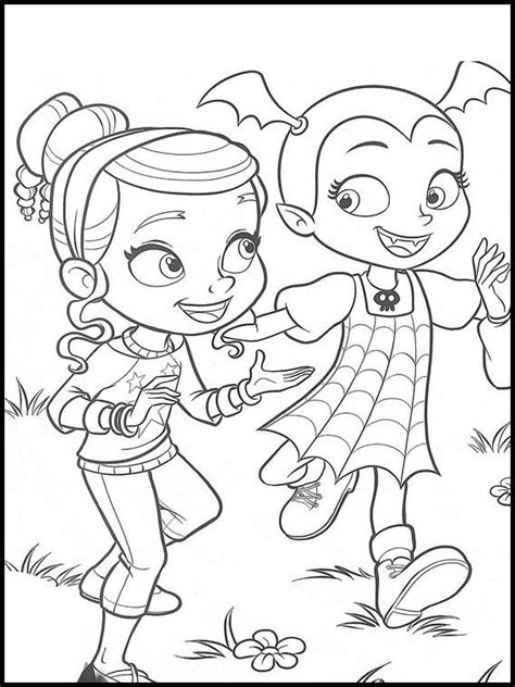 vampirina  printable coloring pages  kids disney coloring pages mermaid coloring pages
