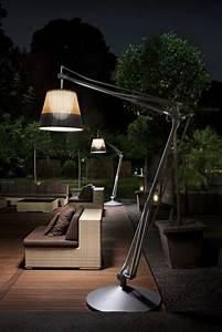 superarchimoon outdoor floor lamp panama by philippe With o moon outdoor floor lamp