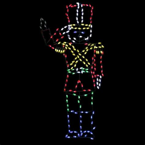 tis  season life size led animated toy soldier