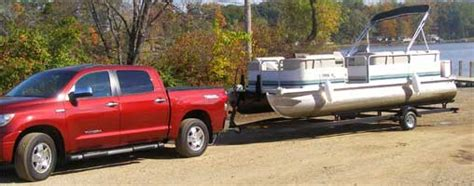 How To Tie A Tube To A Pontoon Boat by Adjusting Our Pontoon Trailer