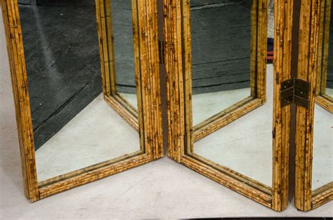 Mirrored Screen Or Room Divider At Stdibs