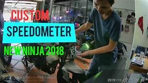 Ninja 250 Fi Old Pake Speedometer New Ninja 2018 Versys Di