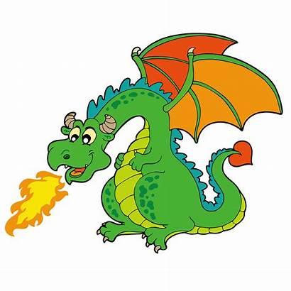 Dragon Fire Breathing Clipart Dragons Cartoon Transparent