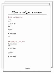 photography client questionnaire packet With wedding photography questionnaire