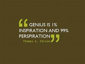 Famous quotes a... Perspiration Quotes