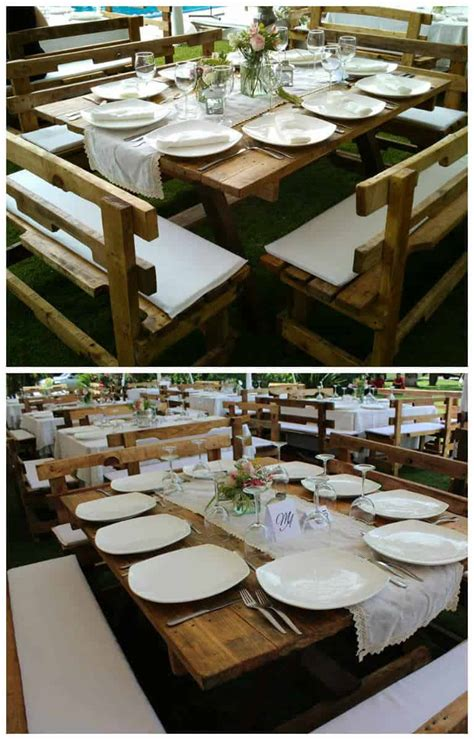 wedding pallets table  pallets