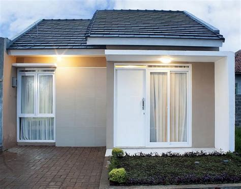 desain rumah minimalis type  terbaru  modern