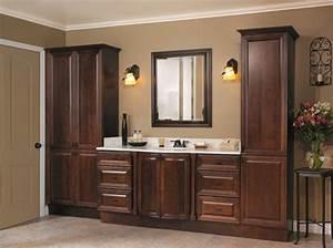Armoire Salle De Bain Bois : une armoire de salle de bain avec miroir pour le style de votre salle de toilettes ~ Melissatoandfro.com Idées de Décoration