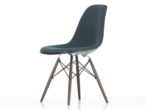 dsw chaise buy the vitra upholstered dsw eames plastic side chair