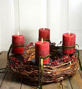 Adventskranz Aus Metall Dekorieren : adventskranz rot eternity im greenbop online shop kaufen ~ Michelbontemps.com Haus und Dekorationen