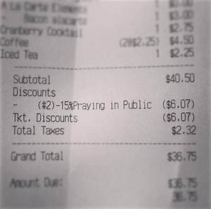 Restaurant forced to remove 'public prayer' discount after ...