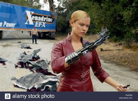 Kristanna Loken As T X In The Sci Fi Action Thriller