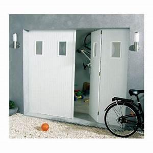 Porte De Garage Pliante À La Française 4 Vantaux : porte de garage 4 vantaux pvc 200 x 240 hublots helsinki castorama ~ Nature-et-papiers.com Idées de Décoration