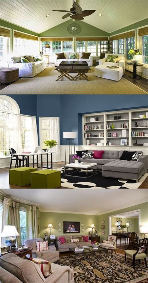 Excellent Living Room Paint Color Ideas  Interior Design