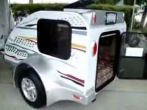 Small Motorcycle Camper Trailers
