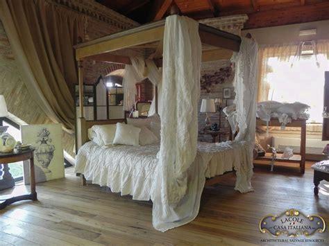 letto baldacchino legno letto a baldacchino in legno lacole casa italiana