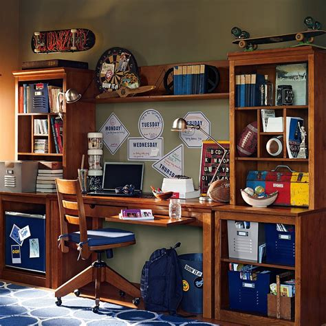 study space inspiration  teens futura home decorating