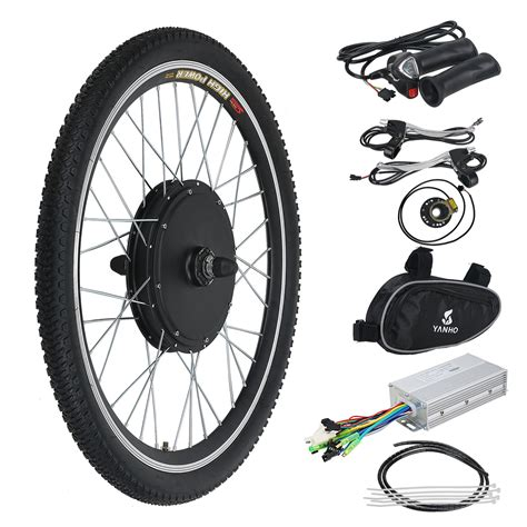 "26"" 48v 1000w Electric E Bike Kit Conversion Bicycle Motor"