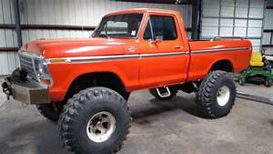 1977 Ford F100 4x4  Lifted Monster Truck For Sale In