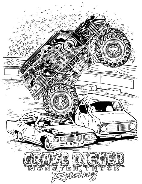monster trucks coloring pages how to draw montstertrucks coloring pages monster trucks