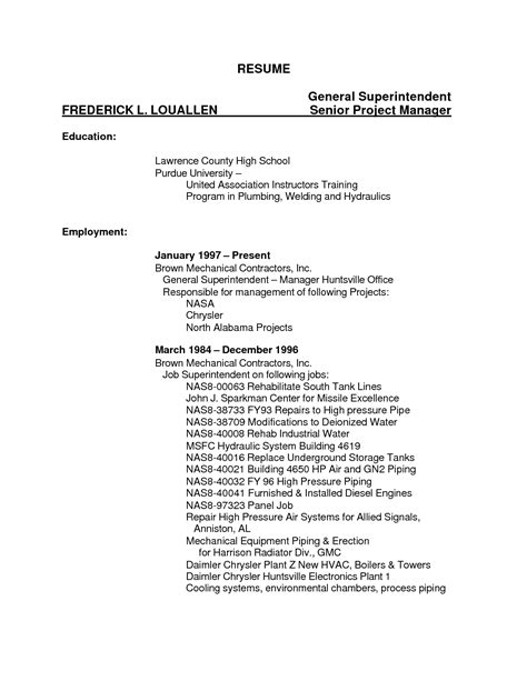 Welding Description Resume by Resume Template Category Page 1 Mogency