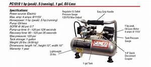 Senco Pc0947 18-gauge Brad Nailer Compressor Combo Kit - Brad Nails