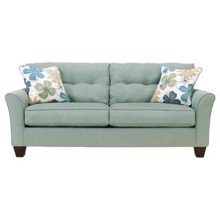 Sofa Pillows Shopping by Signature Design By Kylee Lagoon Contemporary Sofa