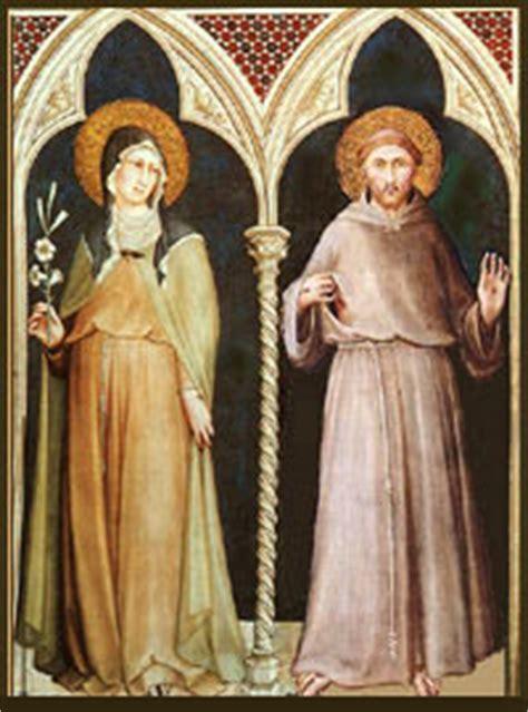 Le Stuoie Santa Degli Angeli Francesco E Chiara A Santa Degli Angeli Un Fuoco