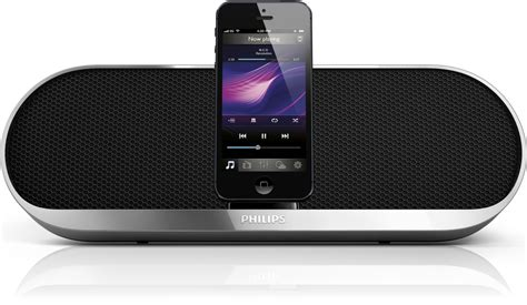 audio to iphone philips announces four new lightning speaker docks for