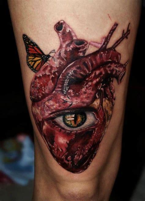 real heart tattoo design ideas