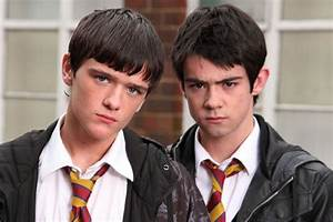 Newcomer Kyle Stack (George Sampson) and Finn Sharkey ...