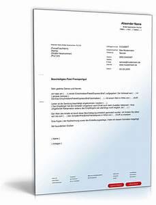 Rechnung Reklamieren : beschwerde besch digtes postgut muster vorlage zum download ~ Themetempest.com Abrechnung