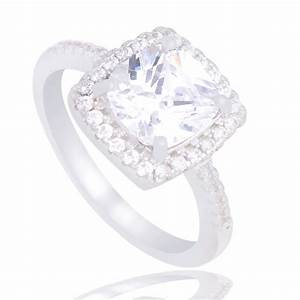 silver luxury cubic zirconia engagement ring 4ever co With silver cubic zirconia wedding rings