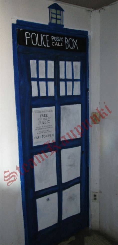 tardis door cover doctor who door cover convierte tu puerta en la de un