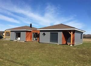 Maison Modulaire Bois : construction de maison en bois dans le sud ouest cogebois ~ Melissatoandfro.com Idées de Décoration