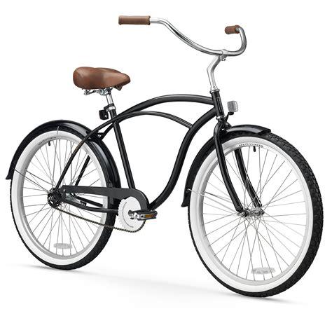 sixthreezero mens  single speed beach cruiser bicycle