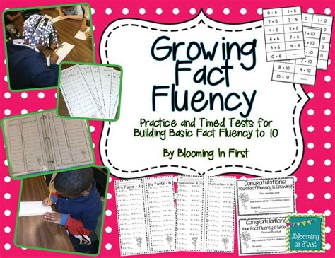 fact fluency timed tests addition  subtraction math