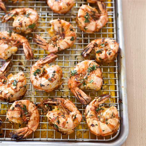 garlicky roasted shrimp  parsley  anise americas test kitchen