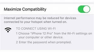 Iphone 12 Can Act As 5ghz Wi