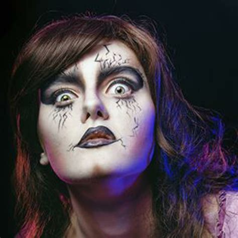 Halloween Make Up Ideen  Bilder Von Hexen