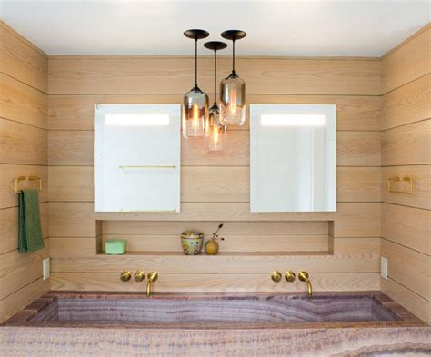 Pendant Lighting In Bathroom by Modern Lighting Graces Kitchen And Bathroom In Westchester