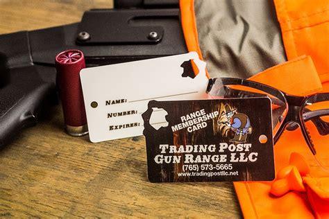 gun range membership cards plastic cards  plastic printers
