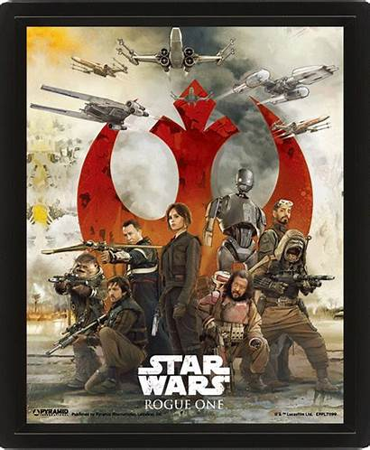 Rogue Lenticular Wars Star Poster Posters 3d