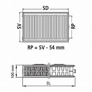 Kermi Austauschheizkörper Typ 22 : kermi therm x2 profil kompakt austauschheizk rper 22 554 700 fk022d507 ~ Watch28wear.com Haus und Dekorationen